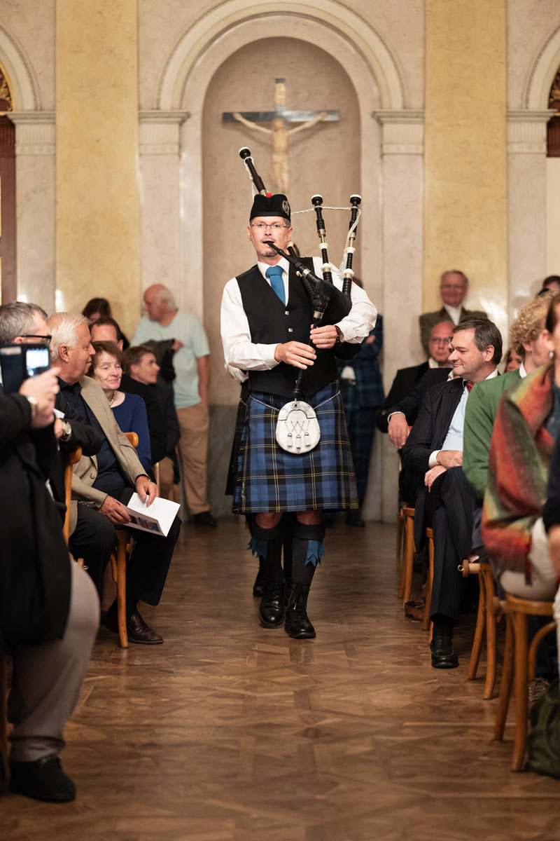 Bild 01 - Werner Müllner (Caledonian Pipes and Drums)